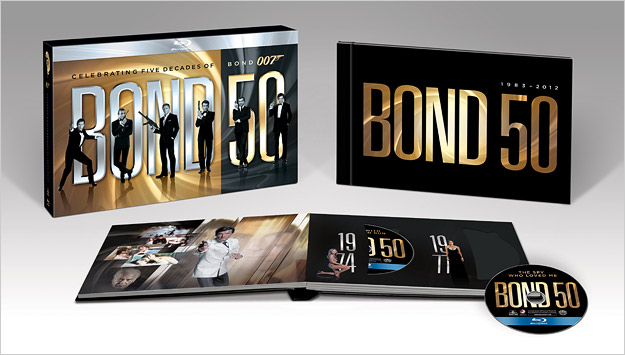 The Bond 50 Blu-ray Box Set