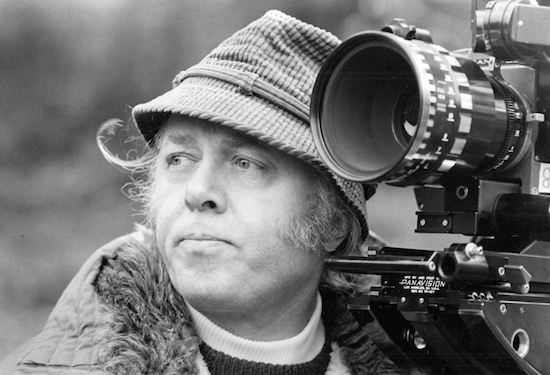 Richard Attenborough directing Magic (1978)