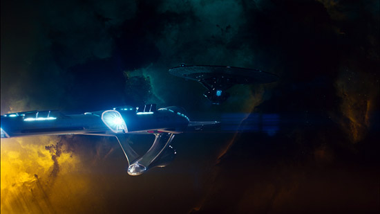 Star Trek Into Darkness IMAX frame