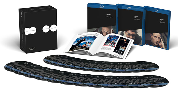 The Ultimate James Bond Collection (Blu-ray Disc)