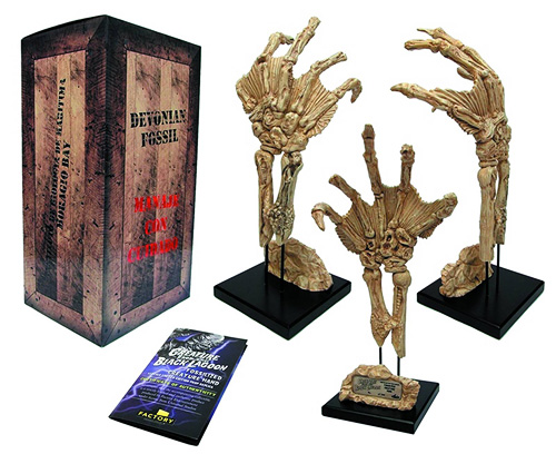 Factory Entertainment's Fossil Creature Hand Prop Replica!