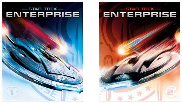 Potential cover art for Star Trek: Enterprise on BD