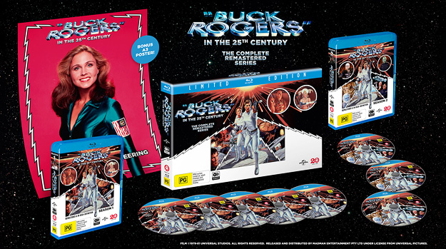 Buck Rogers in the 25th Century (Region B Blu-ray Disc)