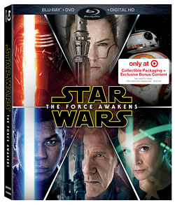 Star Wars: The Force Awakens (Target Blu-ray Combo exclusive)