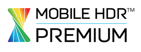 The UHDA's Mobile HDR Premium logo
