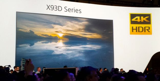 Sony's X93D flagship 4K UHD display