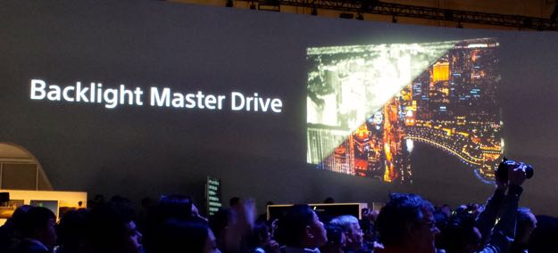 Sony's Backlight Master Drive