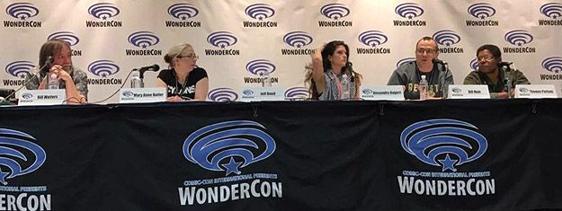 The Everyone's a Critic panel at WonderCon 2017