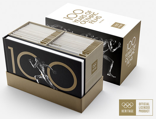 100 Years of Olympic Film box set (Blu-ray Disc)