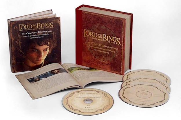 The Lord of the Ring: The Fellowship of the Ring - The Complete Recordings (CD/BD-A)