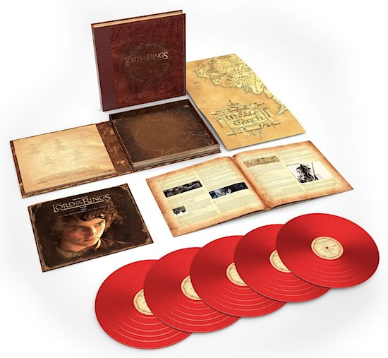 The Lord of the Ring: The Fellowship of the Ring - The Complete Recordings (Vinyl LP)