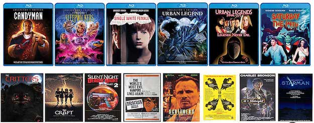 Upcoming Scream Factory