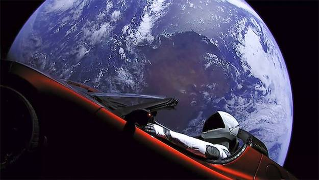 Starman in Orbit