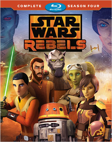 Star Wars Rebels: The Complete Season Four (Blu-ray Disc)