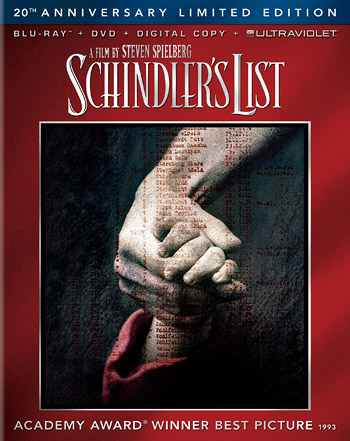 Schindler's List: 20th Anniversary Edition (Blu-ray Disc)