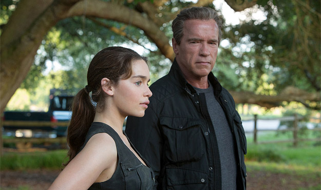 A scene from Terminator Genisys