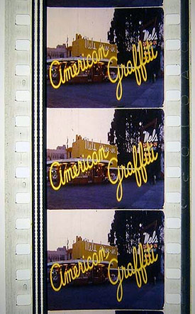 American Graffiti filmstrip
