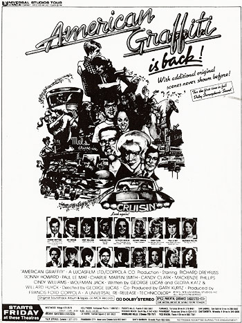 American Graffiti newspaper ad