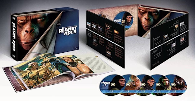 Planet of the Apes: 40-Year Evolution (Blu-ray Disc)