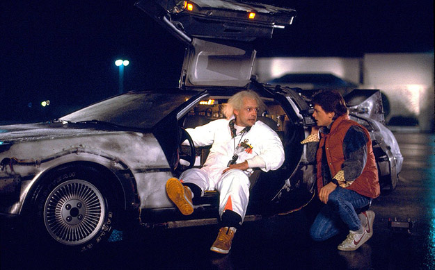 Doc, Marty & the Delorean