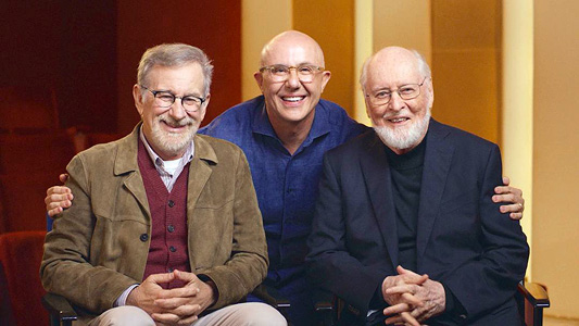 Laurent Bouzereau with Steven Spielberg and John Williams