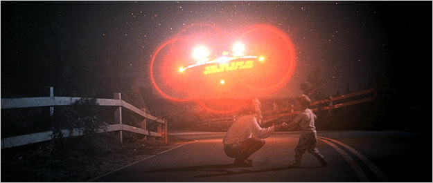 A scene from Close Encounters of the Third Kind