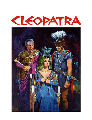The roadshow program for Cleopatra