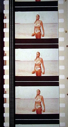 A 35 mm clip of Dr. No