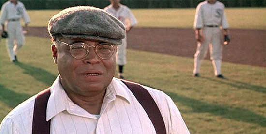 James Earl Jones in Field of Dreams