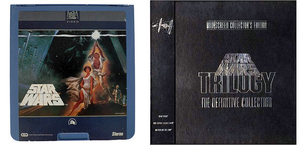 Star Wars - CEV & early Laserdisc