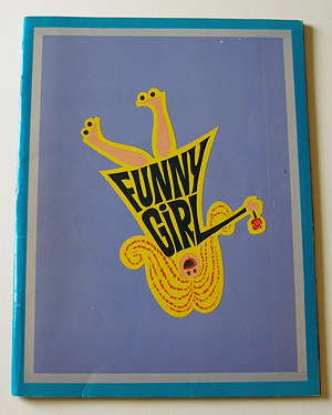 Funny Girl - Roadshow Program