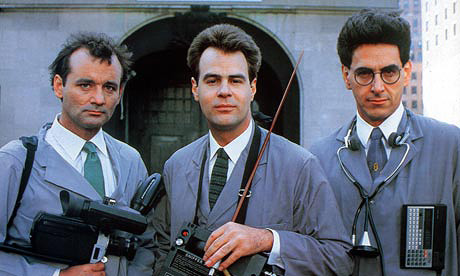 Ghostbusters publicity shot
