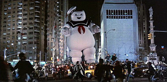 The StayPuft Marshmallow Man