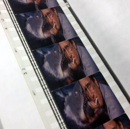 Jaws 35mm film frames
