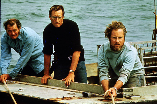 Shaw, Scheider, and Dreyfuss