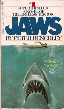 Peter Benchley's Jaws paperback