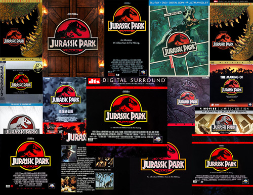 Jurassic Park on home video