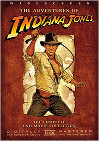 Indiana Jones Trilogy DVD