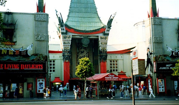 The Living Daylights at the Chinese Theatre