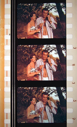 From Russia with Love 35mm film clip