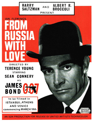 From Russia with Love advertisement
