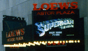 Superman Astor Plaza