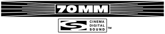 70mm Cinema Digital Sound