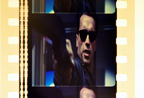 A frame of film from T2