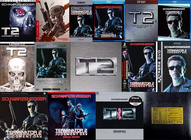 Terminator 2 on home video