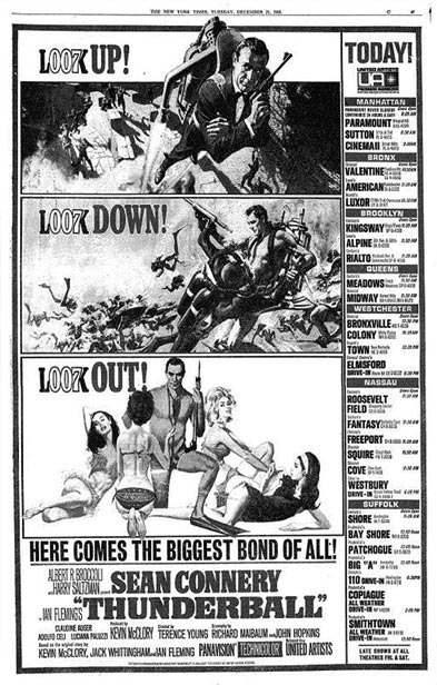 Thunderball newspaper ad