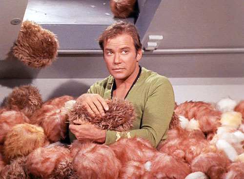 Captain Kirk from The Trouble with Tribbles