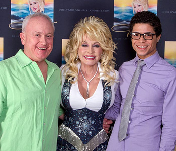 Bud Elder and Dolly Parton