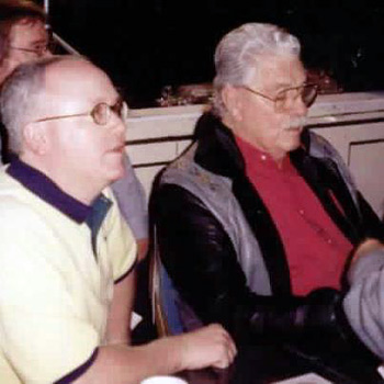 Bud Elder and Dale Robertson