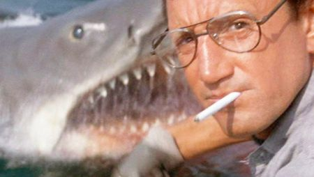 Roy Scheider and Bruce